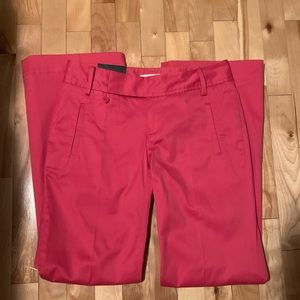 NWT Banana republic pink Martin fit pants